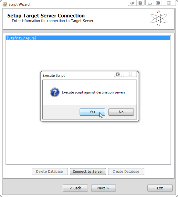 Migrating & Deploying Telerik's Sitefinity CMS to Windows
