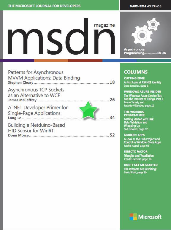Single page application in asp.net mvc 4
